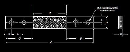 Flexible Two-Hole Shunt